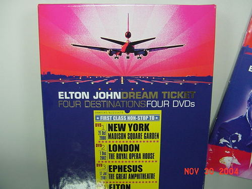 EJ Dream Ticket DVD Pack